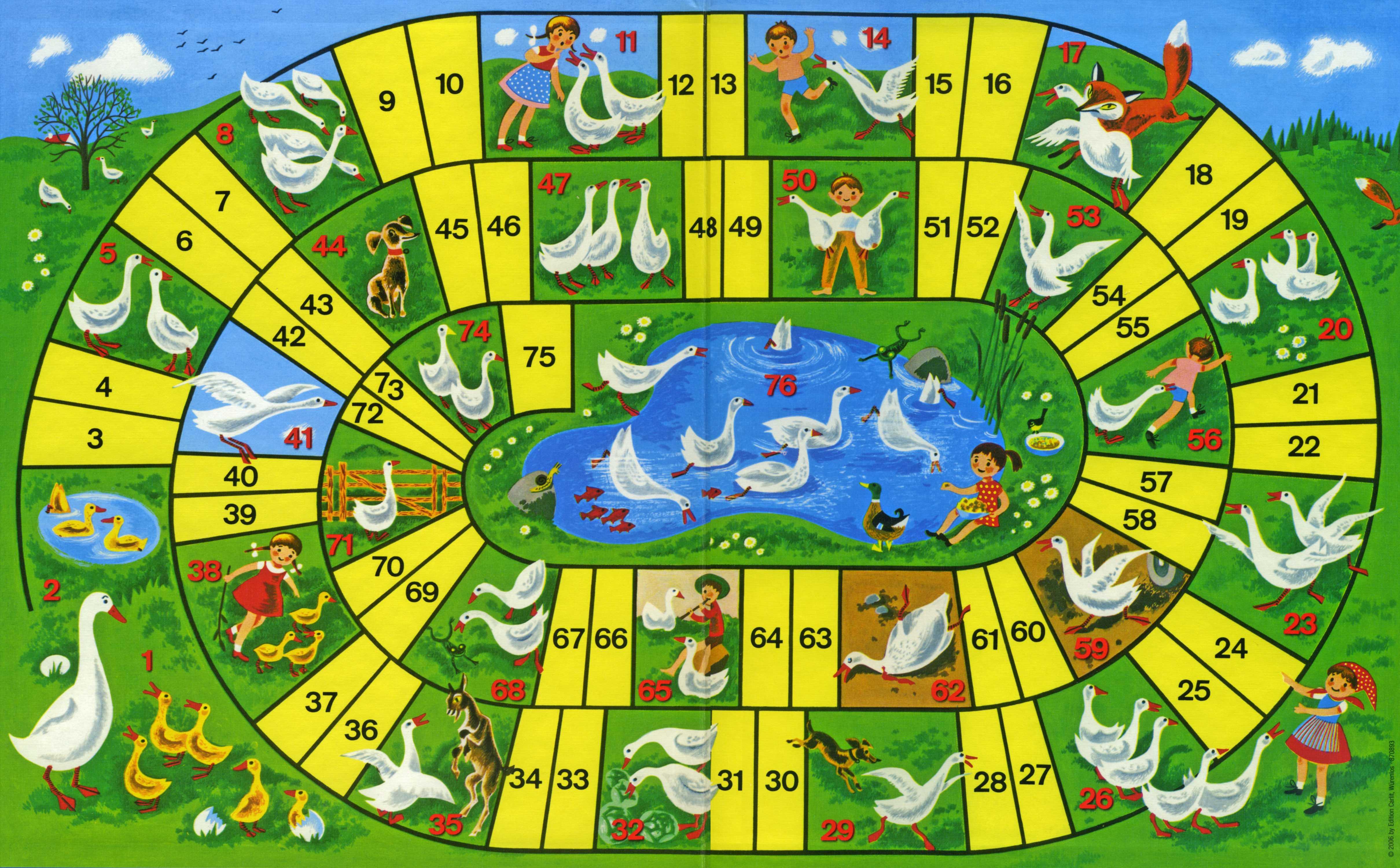 Il gioco dell 39 oca la pi grande collezione di giochi dell 39 oca for Gioco dell oca da stampare e colorare