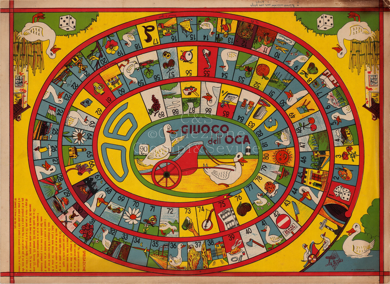 Costruire il gioco dell'oca - GEC - Giochi e Creatività