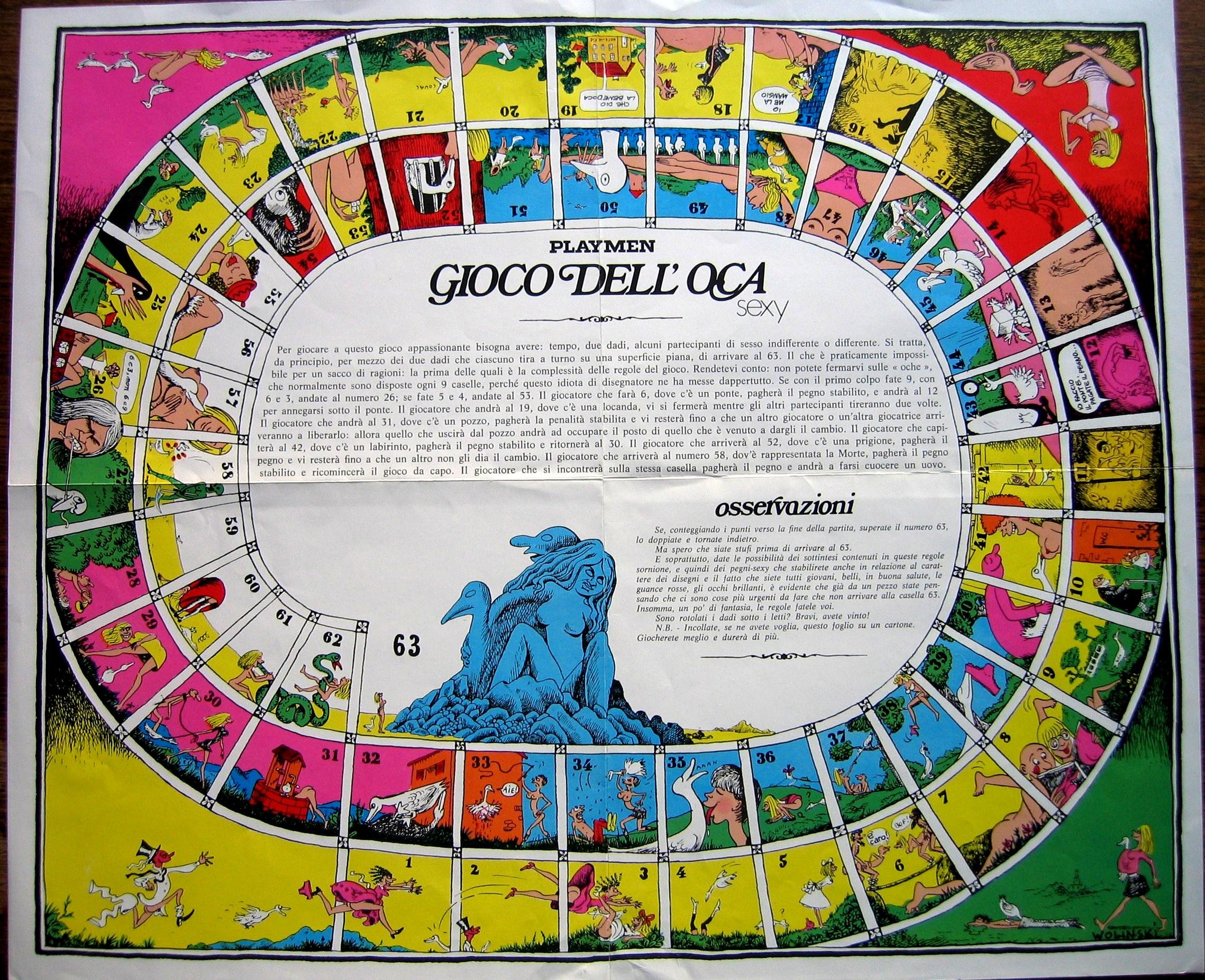 Il gioco dell 39 oca la pi grande collezione di giochi dell 39 oca for Gioco dell oca alcolico da stampare