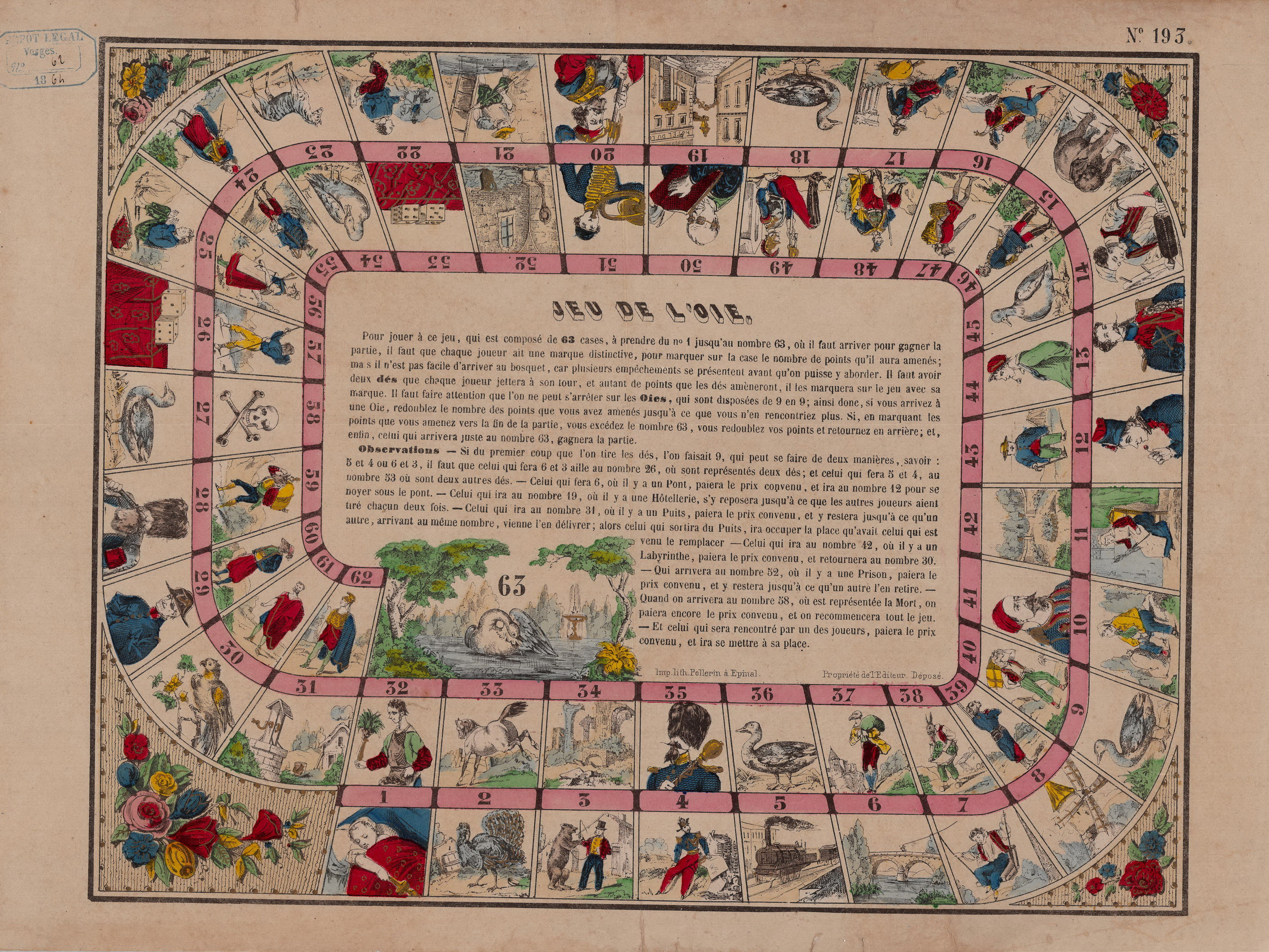 Planche À Découper Humoristique il gioco dell'oca. la più grande collezione di giochi dell'oca