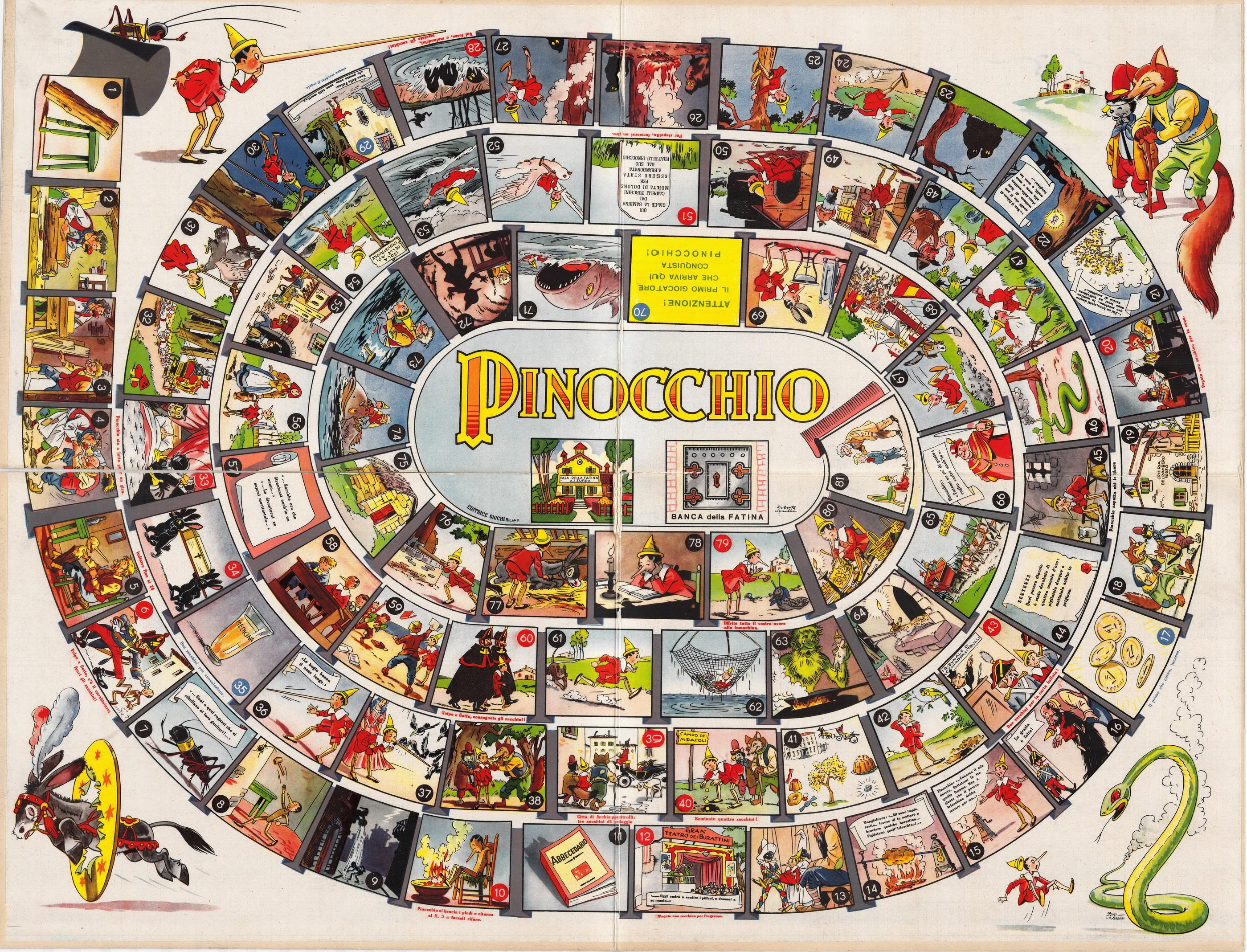 Giochi di pinocchio gratis